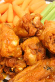 Chicken Wings Upclose Vertical Royalty Free Stock Photos