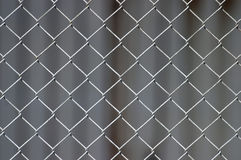 Chicken-Wire Background (selective focus) Stock Photos
