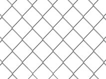 Chicken wire isolated on a white Royalty Free Stock Images