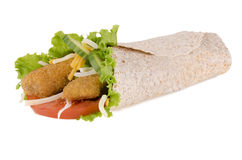 Chicken wrap Stock Photo