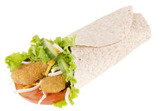 Chicken wrap stock photos