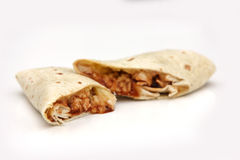 Chicken Wrap Royalty Free Stock Photography