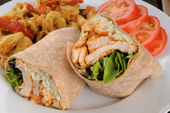 Chicken wraps Stock Images