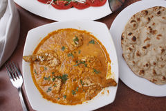 Chicken xacuti - A traditional Goan chicken dish Royalty Free Stock Images
