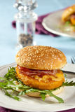 Chickenburger Stock Photography