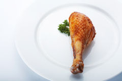 Chickenl Leg. Royalty Free Stock Images