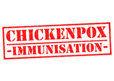 CHICKENPOX IMMUNISATION Stock Images