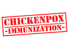 CHICKENPOX IMMUNIZATION Stock Photo