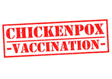 CHICKENPOX VACCINATION Stock Images