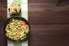 Chickpea, σέλινο, Apple και σαλάτα σταφυλιών Στοκ φωτογραφία με δικαίωμα ελεύθερης χρήσης