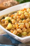 Chickpea σούπα Στοκ Εικόνες