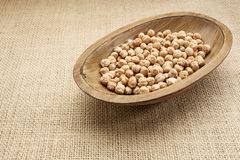 Chickpea beans Royalty Free Stock Photography