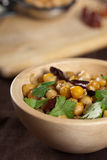 Chickpea bowl Stock Image