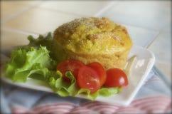 Chickpea cake Stock Image
