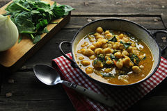 Chickpea casserole Royalty Free Stock Photography