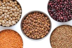 Beans OR Grains OR Lentils royalty free stock image