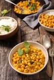 Chickpea with coconut Royalty Free Stock Photo