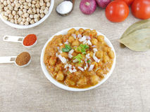 Chickpea curry Obrazy Royalty Free