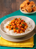 Chickpea curry Stock Image