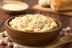 Chickpea που διαδίδεται ή Hummus Στοκ Εικόνες