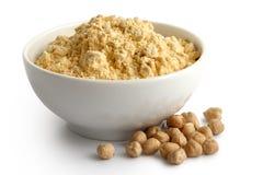 Chickpea mąka obrazy royalty free