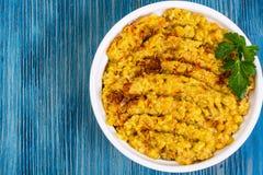 Chickpea naczynia tradycyjna Bliskowschodnia kuchnia Zdjęcie Royalty Free