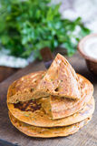 Chickpea pancakes Stock Photography