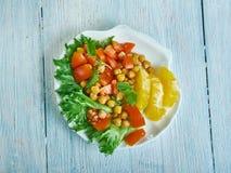 Chickpea Pancetta sałatka zdjęcia stock