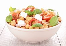 Chickpea salad Stock Photos