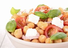 Chickpea salad Royalty Free Stock Photos