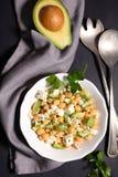 Chickpea salad Stock Image