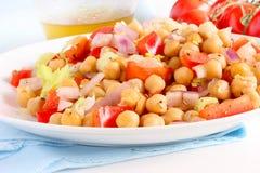 Chickpea salad Royalty Free Stock Photos