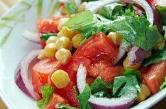 Chickpea salad Kurdish Royalty Free Stock Photography