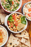 Chickpea salad Royalty Free Stock Photography