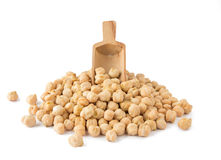 Chickpea With Scoop Royalty Free Stock Photo