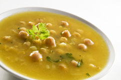 Free Chickpea Soup Royalty Free Stock Photos - 16893318