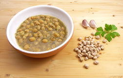 Chickpea soup Royalty Free Stock Images