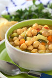 Chickpea Soup Royalty Free Stock Photo