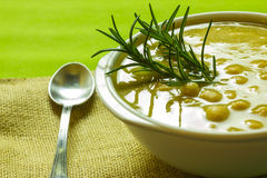 Chickpea Soup Stock Photo