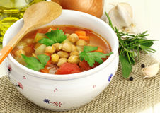 Free Chickpea Soup Stock Images - 29638194