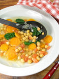 Chickpea soup 8 Stock Photos
