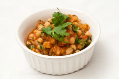Chickpea Stew Stock Photo