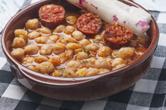 Chickpea stew Royalty Free Stock Image