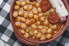 Chickpea stew Royalty Free Stock Photography