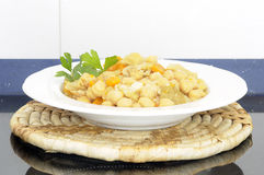 Chickpea stew Royalty Free Stock Photos