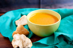 Chickpea tomato soup Royalty Free Stock Photography