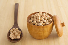 Chickpeas stock photography