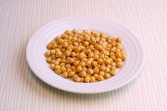 chickpeas Photo libre de droits