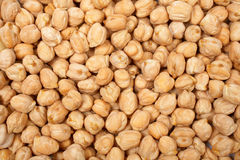 Chickpeas background stock photography