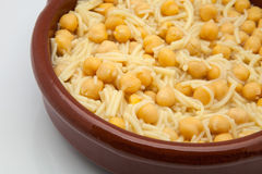 Chickpeas cooked Royalty Free Stock Image